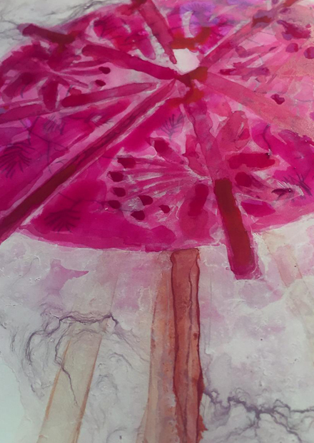 Farbräume Rot